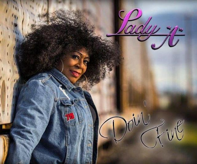 """Blues singer Anita White, who uses the stage name """"Lady A."""" (Lady A Records)"""