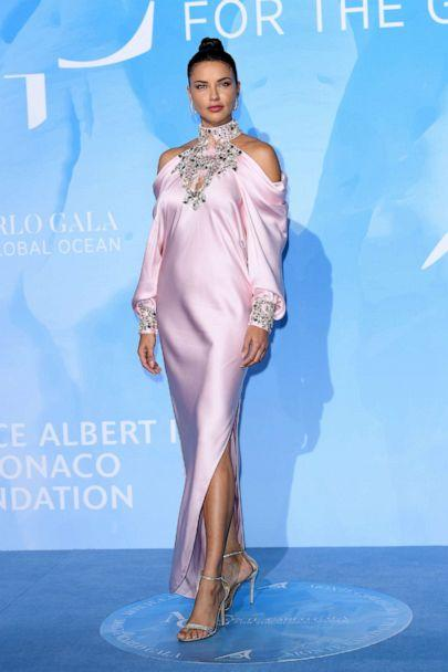 PHOTO: Adriana Lima attends the Gala for the Global Ocean hosted by H.S.H. Prince Albert II of Monaco at Opera of Monte-Carlo, Sept. 26, 2019, in Monte-Carlo, Monaco. (Daniele Venturelli/Getty Images)