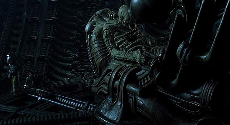 The Space Jockey, a.k.a. Pilot, from 'Alien' (20th Century Fox)