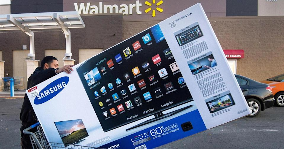Paul J. Richards | AFP | Getty Images. For the first time ever, the vast majority — roughly 96 percent — of Wal-Mart's Black Friday deals will be available online.