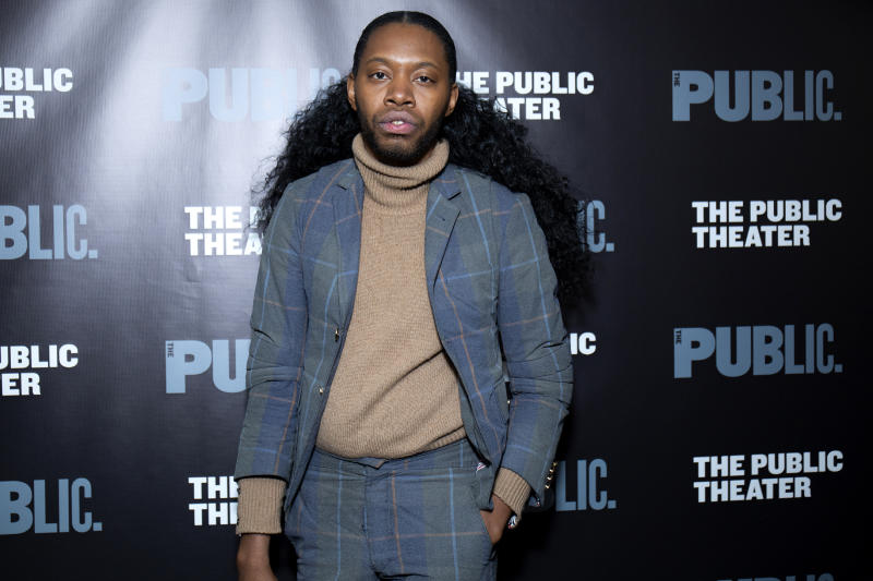 NEW YORK, NEW YORK - MARCH 27: Jeremy O. Harris attends 'Ain't No Mo' opening night at The Public Theater on March 27, 2019 in New York City. (Photo by Santiago Felipe/Getty Images)