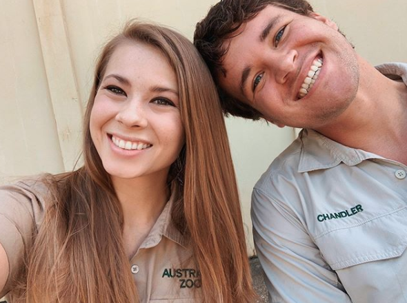 Bindi and Chandler tied the knot on Wednesday, but not all fans wished them well. Photo: Instagram/bindisueirwin