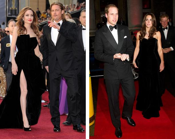 Angelina Jolie Wears Kate Middleton's Mascaró Clutch to the Oscar Awards!