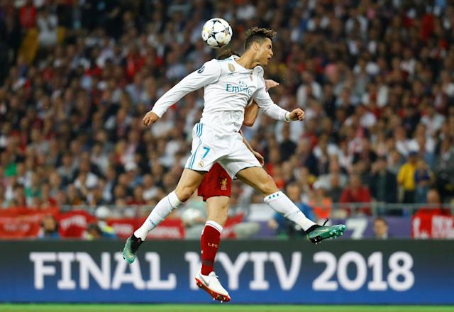 Soccer Football - Champions League Final - Real Madrid v Liverpool - NSC Olympic Stadium, Kiev, Ukraine - May 26, 2018 Real Madrid's Cristiano Ronaldo in action REUTERS/Kai Pfaffenbach TPX IMAGES OF THE DAY
