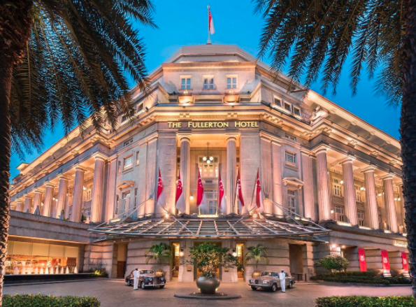 Converted in 1997, The Fullerton building is now one of Singapore's most iconic hotels.