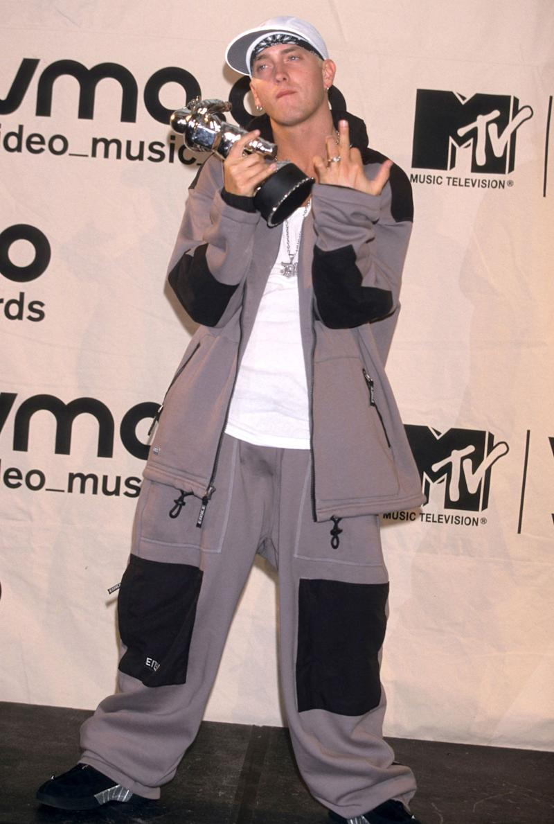 At the MTV Video Music Awards in New York, New York.