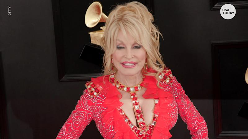 Coronavirus: Dolly Parton says 'Don't be too scared, it's going to be all right'