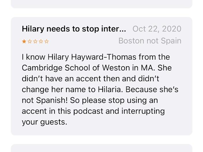Mom Brain podcast review Hilaria Baldwin Apple .PNG