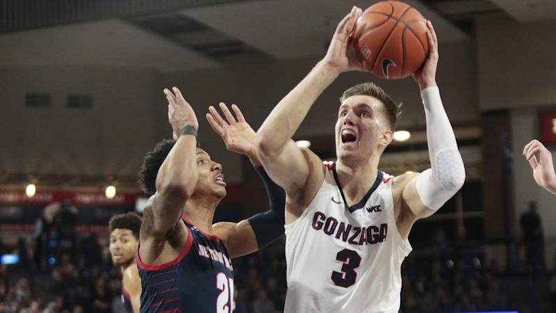 Gonzaga remains No. 1 but Duke cuts into Zags' lead