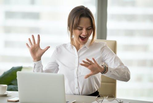 """<span class=""""caption"""">Time for the three-day weekend.</span> <span class=""""attribution""""><a class=""""link rapid-noclick-resp"""" href=""""https://www.shutterstock.com/image-photo/excited-happy-employee-looking-wristwatch-satisfied-1104907331"""" rel=""""nofollow noopener"""" target=""""_blank"""" data-ylk=""""slk:fizkes/Shutterstock"""">fizkes/Shutterstock</a></span>"""