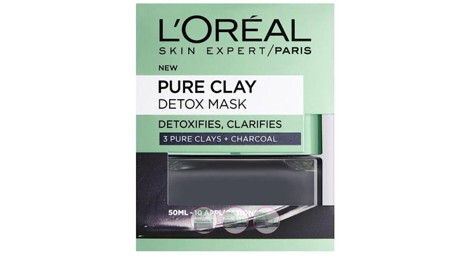 L'Oreal Paris Pure Clay Detox Face Mask