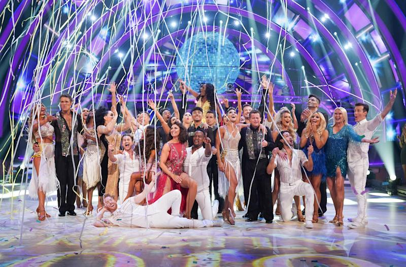 The Strictly Come Dancing class of 2019: BBC/Kieron McCarron