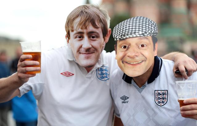 <p>Rodney and Del Boy from Only Fools and Horses. </p>