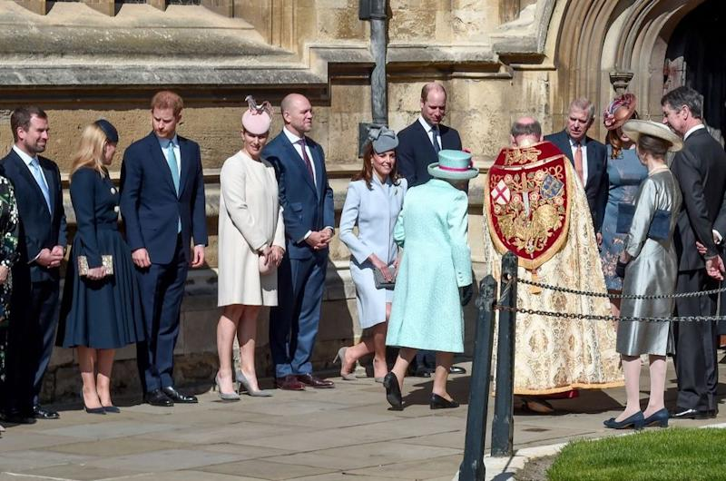 Kate Middleton curties to the Queen | Eamonn M. McCormack/Getty Images