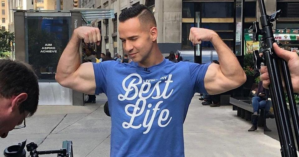 Report: Jersey Shore star Mike Sorrentino will earn more