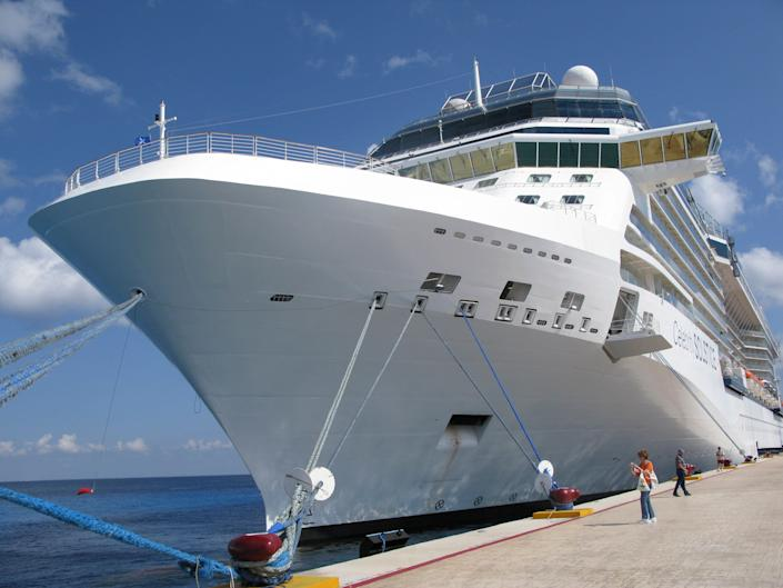 With tourism shattered by the COVID-19 pandemic in 2021, Mexico's Caribbean island of Cozumel is planning another dock for cruise ships. (AP Photo/J Pat Carter. Residents and environmental groups say a fourth dock is unnecessary.