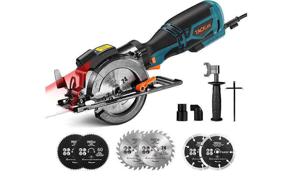 The Amazon's Choice circular saw is more affordable than ever. (Photo: Amazon)