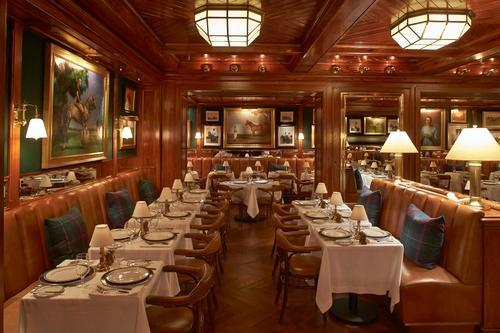 what s ralph lauren serving for dinner check out the menu for his new polo bar restaurant. Black Bedroom Furniture Sets. Home Design Ideas