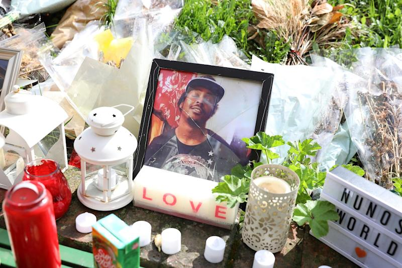 Victim: tributes to Abdikarim Hassan, who died on April 10 (Photo by Dan Kitwood/Getty Images): Getty Images