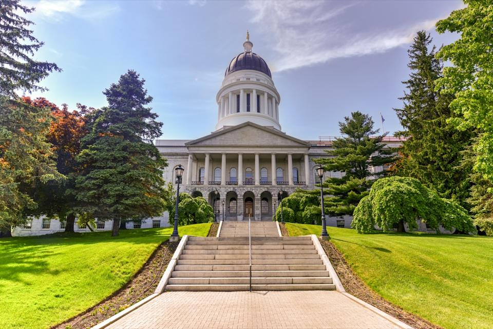 maine state capitol buildings