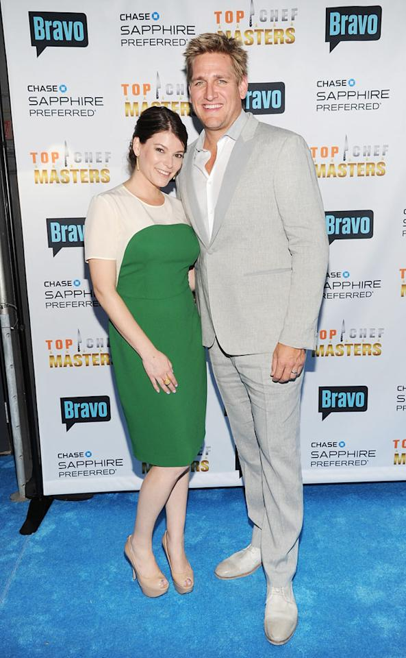 "Co-hosts Gail Simmons and Curtis Stone attend the ""Top Chef Masters"" Season 5 Premiere Tasting Event presented by Chase Sapphire Preferred at 82 Mercer on Tuesday, July 16, 2013 in New York."