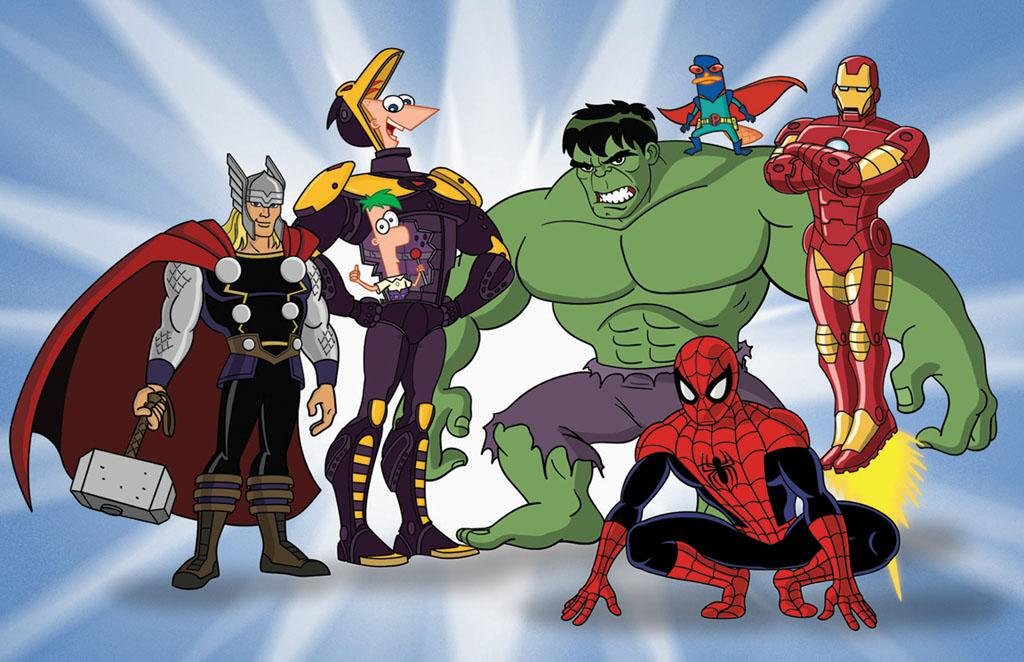 """Phineas and Ferb: Mission Marvel"" is an animated adventure assembling characters from two hugely popular franchises, Disney's ""Phineas and Ferb"" and Marvel's iconic Super Heroes: Spider-Man, Iron Man, Thor and Hulk."