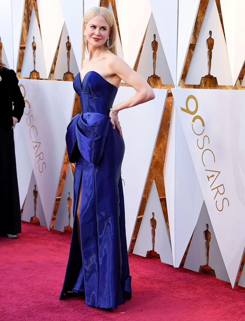 Nicole Kidman - here at the 2018 Oscars - is known for always looking head-to-toe glam, but it appears the actress has recently had a major transformation. Source: Getty