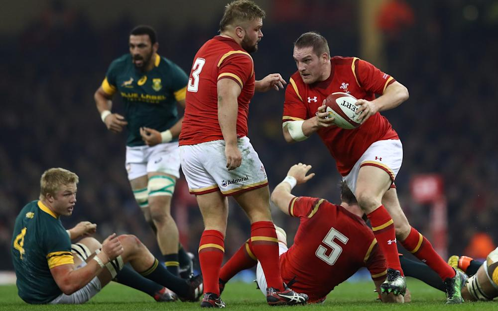 Gethin Jenkins - Credit: GETTY IMAGES