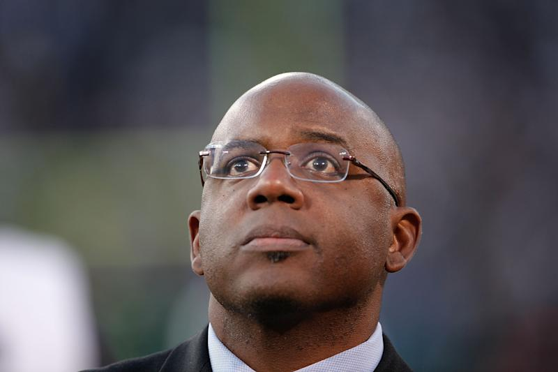 OAKLAND, CA - DECEMBER 18: Detroit Lions General Manager Martin Mayhew watches the action during the game against the Oakland Raiders at O.co Coliseum on December 18, 2011 in Oakland, California. The Lions defeated the Raiders 28-27. (Photo by Leon Halip/Getty Images)