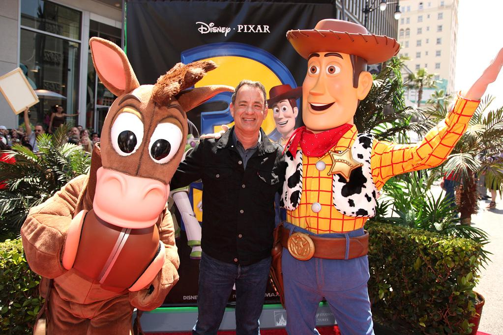 """<a href=""""http://movies.yahoo.com/movie/contributor/1800010392"""">Tom Hanks</a> at the Los Angeles premiere of <a href=""""http://movies.yahoo.com/movie/1809266566/info"""">Toy Story 3</a> - 06/13/2010"""