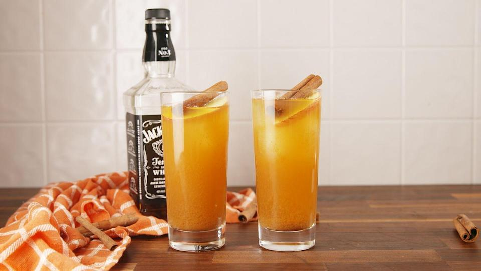"""<p>Whiskey business.</p><p>Get the recipe from <a href=""""https://www.delish.com/cooking/recipe-ideas/recipes/a56767/apple-cider-old-fashioned-recipe/"""" rel=""""nofollow noopener"""" target=""""_blank"""" data-ylk=""""slk:Delish"""" class=""""link rapid-noclick-resp"""">Delish</a>.</p>"""