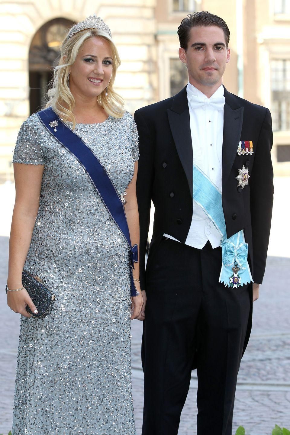 <p>Born in 1986, Philippos is the youngest son of Greece's last monarch, Constantine II, whose reign ended in 1973. Yes, this means Philippos' title is just a title, but he's still on the market if you want to get to know a prince, ask him about hedge funds (he works as an analyst in Manhattan), or want to talk about the weather in D.C. (he studied at Georgetown). Here he is with sister Theodora at the wedding of Princess Madeleine of Sweden.</p>