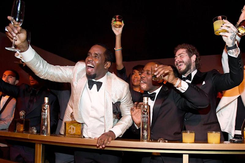 Diddy, Post Malone and guests | Kevin Mazur/Getty