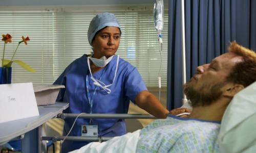Joe Pasquale and aborted vasectomies: BBC's Doctors is 20 and as weird as ever