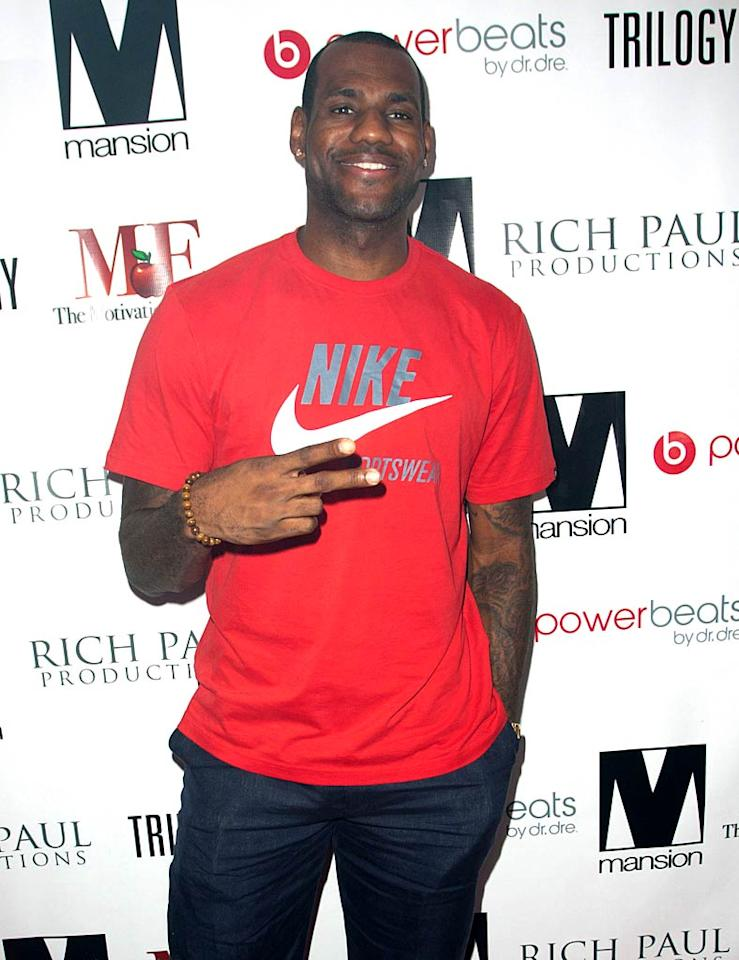 "December 30: LeBron James turns 26 John Parra/<a href=""http://www.wireimage.com"" target=""new"">WireImage.com</a> - October 29, 2010"