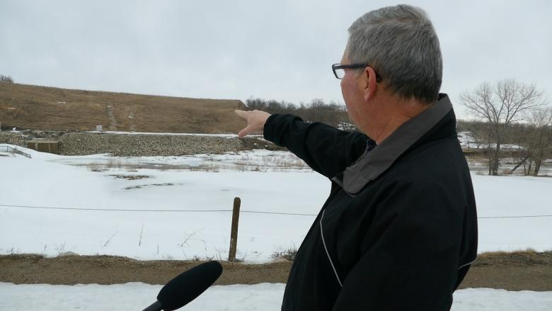 'It's coming': Southwestern Manitoba residents watch, wait as spring melt begins