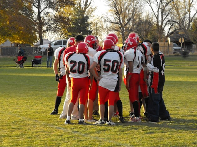 The Murtaugh football team was forced to forfeit its final four games after a rash of injures — MurtaughRedDevils.Blogspot.com