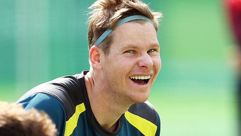 Steve Smith is one happy camper, and rightly so. (Photo by Steven Paston/PA Images via Getty Images)