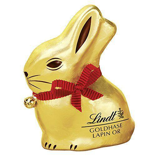 """<p><strong>Lindt</strong></p><p>amazon.com</p><p><strong>$15.99</strong></p><p><a href=""""https://www.amazon.com/dp/B000P60YTG?tag=syn-yahoo-20&ascsubtag=%5Bartid%7C2164.g.35452335%5Bsrc%7Cyahoo-us"""" rel=""""nofollow noopener"""" target=""""_blank"""" data-ylk=""""slk:Shop Now"""" class=""""link rapid-noclick-resp"""">Shop Now</a></p><p>It's no wonder that Lindt's golden-foil hollow bunny is an Easter icon. It's made with the same luxurious milk chocolate that makes the company's truffles and bars so delectable. </p>"""