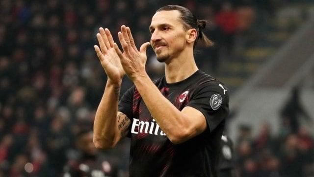 Serie A: AC Milan striker Zlatan Ibrahimovic injures calf in training ahead of league's resumption