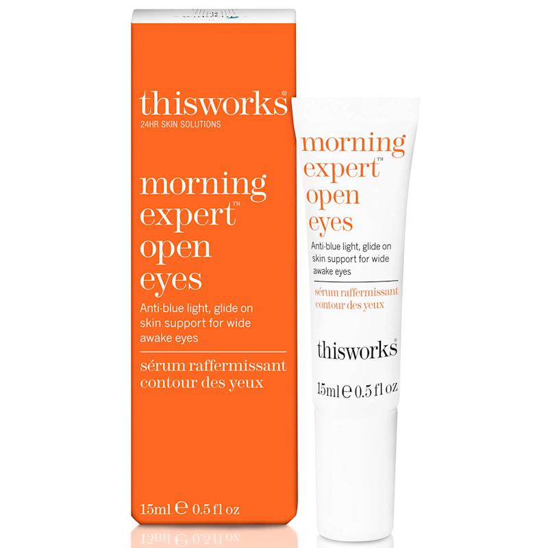 This Works Morning Expert Open Eyes. (Image via This Works)