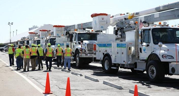 Hundreds of thousands of homes and businesses in Miami-Dade and Broward County were hit by power outages as Hurricane Irma took aim at the lower Florida Keys in September 2017.
