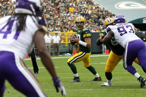 Rodgers more appreciative of LaFleur after virtual offseason
