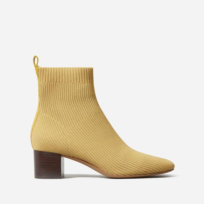 """<p><strong>Everlane</strong></p><p>everlane.com</p><p><strong>$115.00</strong></p><p><a href=""""https://go.redirectingat.com?id=74968X1596630&url=https%3A%2F%2Fwww.everlane.com%2Fproducts%2Fwomens-day-boot-reknit-tumbleweed&sref=https%3A%2F%2Fwww.goodhousekeeping.com%2Fclothing%2Fg36292464%2Fbest-summer-boots%2F"""" rel=""""nofollow noopener"""" target=""""_blank"""" data-ylk=""""slk:Shop Now"""" class=""""link rapid-noclick-resp"""">Shop Now</a></p><p>An Everlane best seller, these booties are known for their versatility:<strong> easily styled for work or out on the town. </strong>Opt for the recycled polyester material that's ideal for summer wear (wool is better suited for colder weather). The two inch heel is """"comfortable for everyday wear,"""" says one reviewer.</p>"""