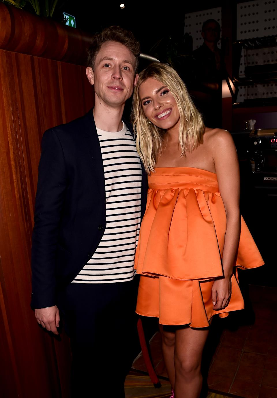 LONDON, ENGLAND - FEBRUARY 18: Matt Edmondson and Mollie King attend the Sony BRITs after-party at The Standard on February 18, 2020 in London, England. (Photo by Eamonn Mccormack/Getty Images for Sony)