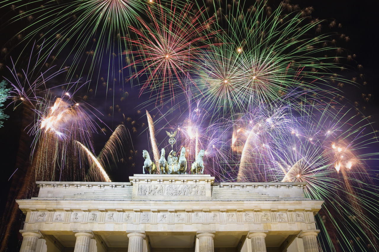 <p>Ring in the New Year in one of Europe's hippest capitals, Berlin. Topdeck has a four-day Berlin New Year trip that includes walking tours and New Year celebrations at the Brandenburg Gate. The price, from £202 per person, includes accommodation and some meals. Excludes flights. [Photo: Getty] </p>