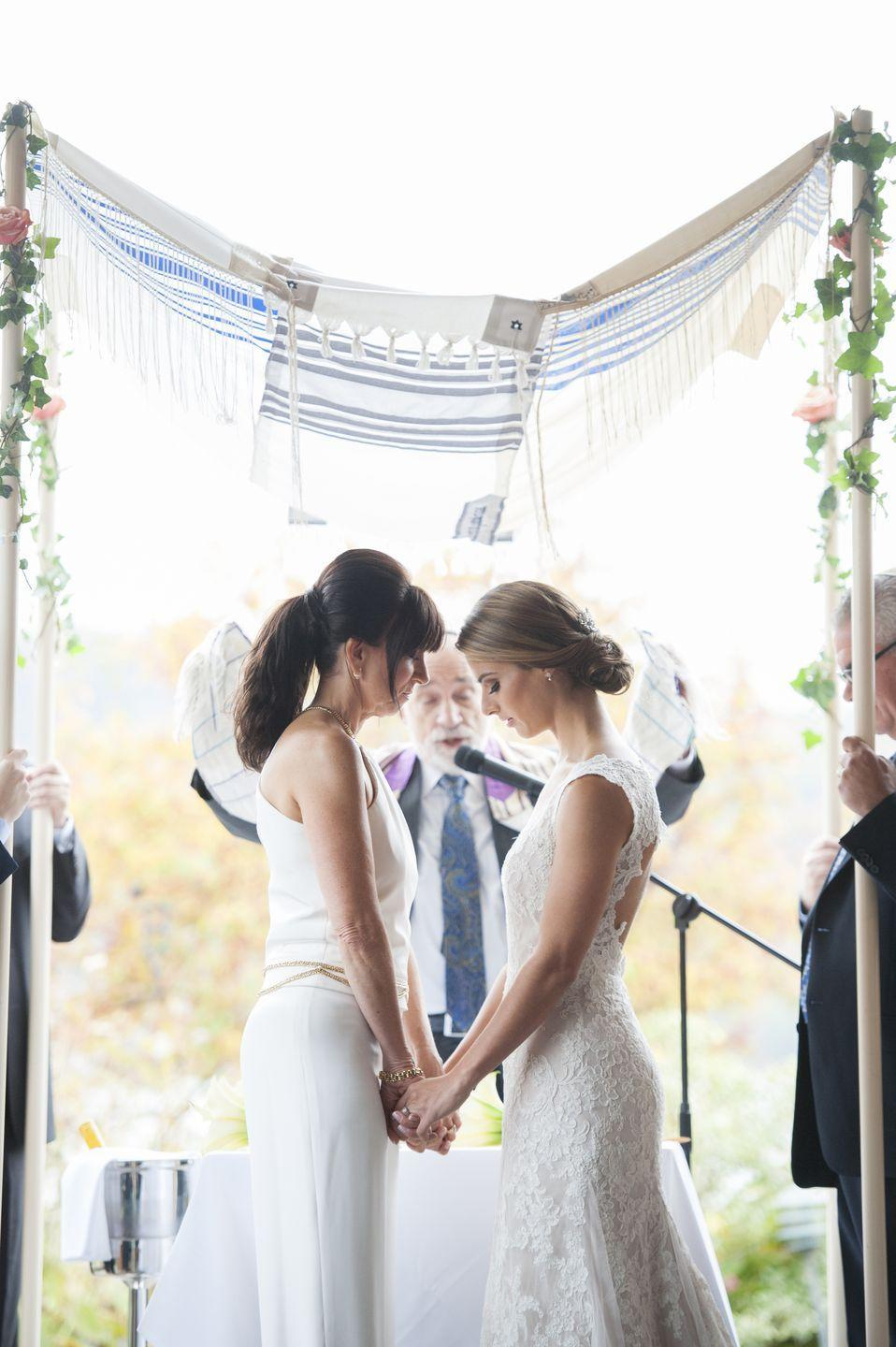 """<p>The BFFs tied the knot on October 25, 2015: """"Life is still scary for LGBT+ couples, but knowing that we are best friends and in this journey together makes everything okay,"""" they said.</p>"""