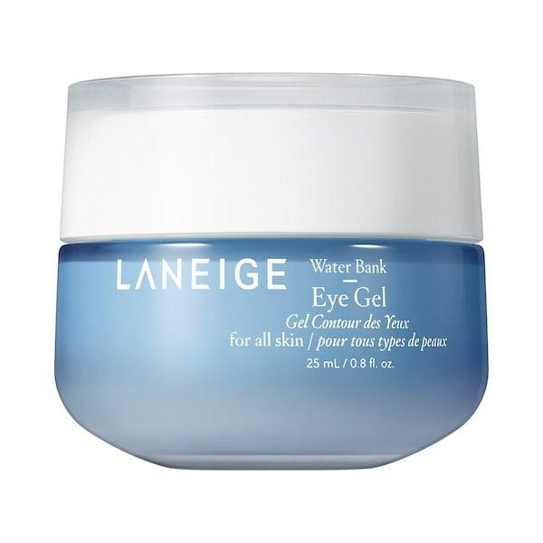 <p>This hypoallergenic <span>Laneige Water Bank Eye Gel</span> ($39) adds tons of moisture with micro hyaluronic acid and antioxidant-rich green mineral water.</p>