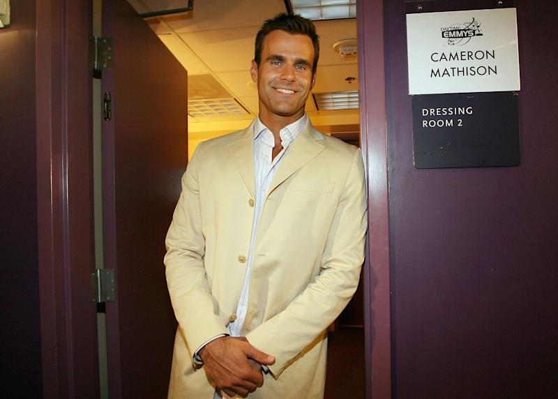 Cameron Mathison hosted the Daytime Emmy Awards in 2008. The actor revealed this week he will have surgery Thursday to remove a cancerous tumor on his kidney.