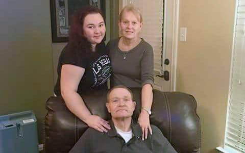 Cynthia Tisdale (top right) with her husband Recicie Tisdale and niece Olinde - Credit: Eric Sanders